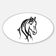 Black Horse Decal