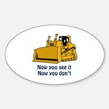Now You See It Decal