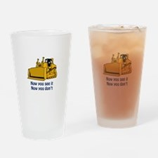 Now You See It Drinking Glass
