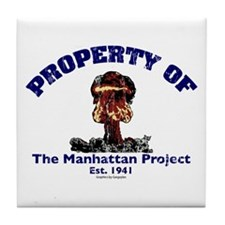 Manhattan Project Tile Coaster