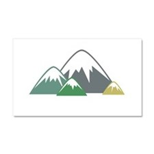 Candy Mountains Car Magnet 20 x 12