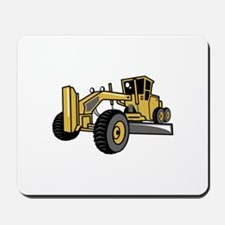 Road Grader Mousepad