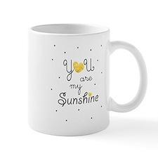 You are my sunshine - gold Mugs