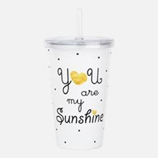 You are my sunshine - Acrylic Double-wall Tumbler