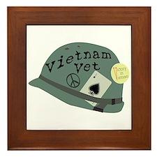 Vietnam Vet Framed Tile