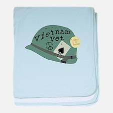 Vietnam Vet baby blanket