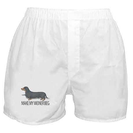 Make My Weiner Beg Boxer Shorts