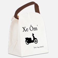 Xe Om (Hug Vehicle) Canvas Lunch Bag