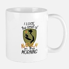 Smell Of Napalm Mugs
