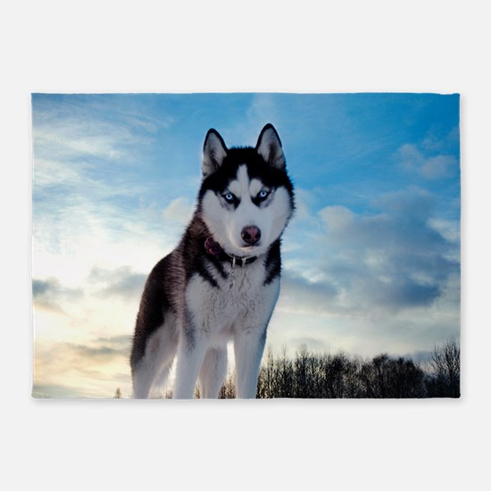 Husky Dog Outdoors 5'x7'Area Rug