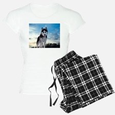 Husky Dog Outdoors pajamas
