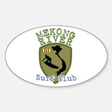 Mekong River Surf Club Decal