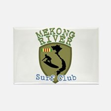 Mekong River Surf Club Magnets