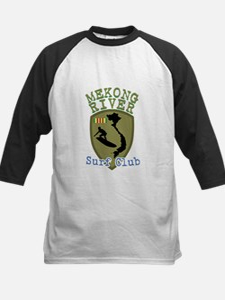 Mekong River Surf Club Baseball Jersey