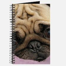 Cute Pug Journal