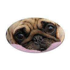 Cute Pug Wall Sticker