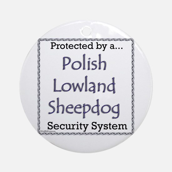 Lowland Security Ornament (Round)