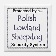Lowland Security Tile Coaster