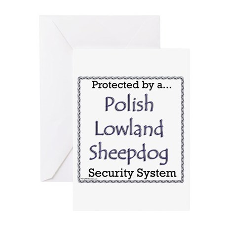 Lowland Security Greeting Cards (Pk of 10)