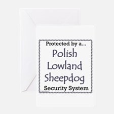 Lowland Security Greeting Card