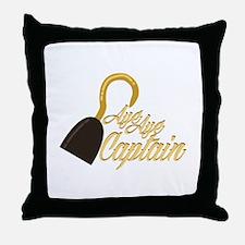 Aye Captain Throw Pillow