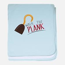 Walk the Plank! baby blanket