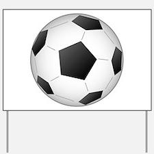 Soccer Ball Yard Sign