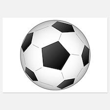 Soccer Ball Invitations