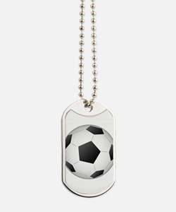Soccer Ball Dog Tags