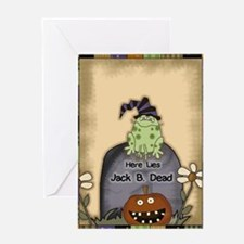 Funny Trick or treats Greeting Card