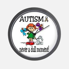 AUTISM ~ never a dull moment! Wall Clock