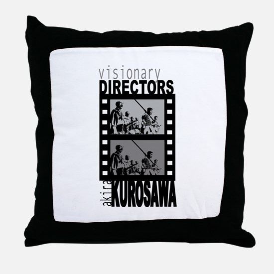 Akira Kurosawa Throw Pillow