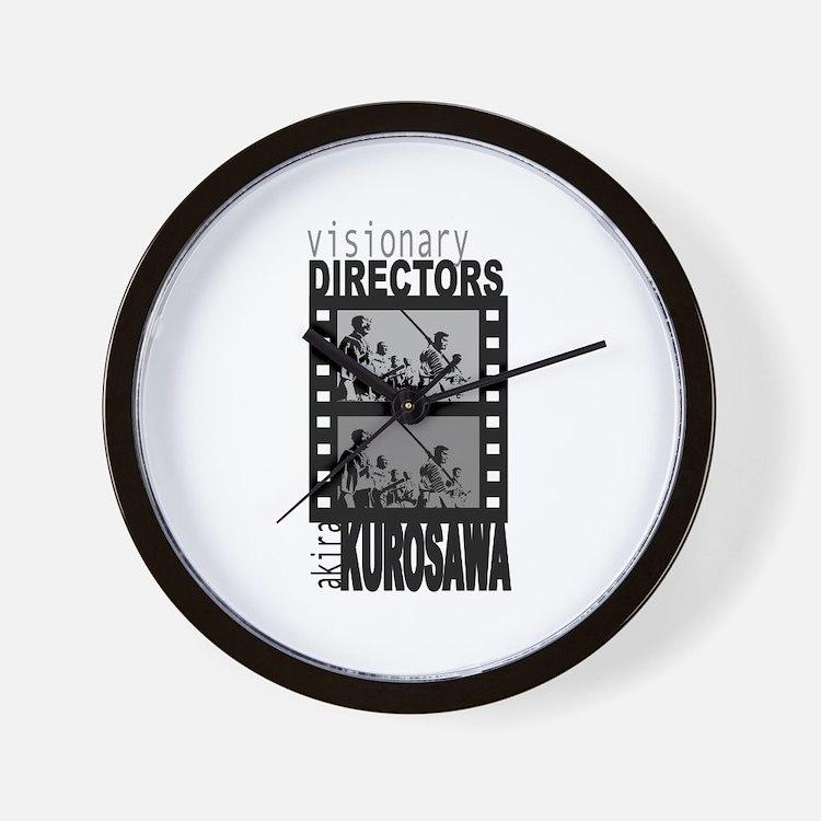 Akira Kurosawa Wall Clock
