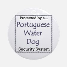 PWD Security Ornament (Round)