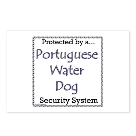 PWD Security Postcards (Package of 8)