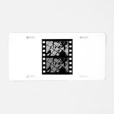 French Cinema Film Aluminum License Plate