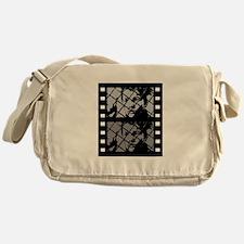French Cinema Film Messenger Bag
