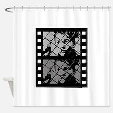 French Cinema Film Shower Curtain