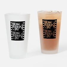 French Cinema Film Drinking Glass