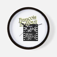 Francois Truffaut Wall Clock