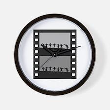 Swedish Film Wall Clock