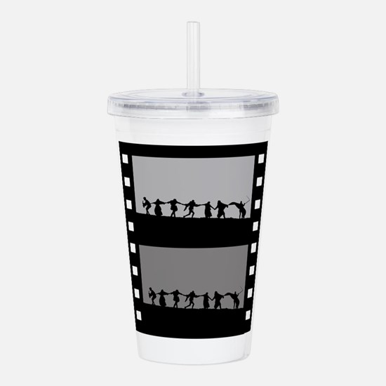 Swedish Film Acrylic Double-wall Tumbler