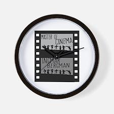 Master of Cinema Wall Clock