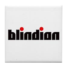 Blindian Tile Coaster