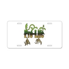 Life Grows Aluminum License Plate