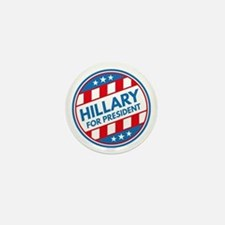 Hillary For President Mini Button
