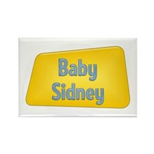 Baby Sidney Rectangle Magnet