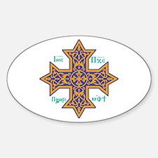 Coptic Cross Decal