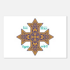 Coptic Cross Postcards (Package of 8)