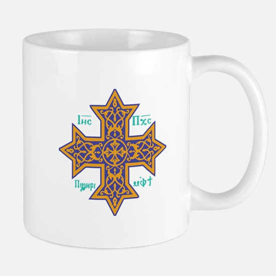 Coptic Cross Mugs
